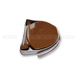 Zwijacz do rolet na taśmę z rączką w kolorze złoty dąb wersja lux