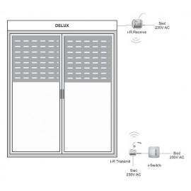 Transmiter radiowy sygnałów z czujników przewodowych i-R Transmit