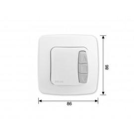 Dwufunkcyjny przełącznik do rolet Selve i-Switch Plus
