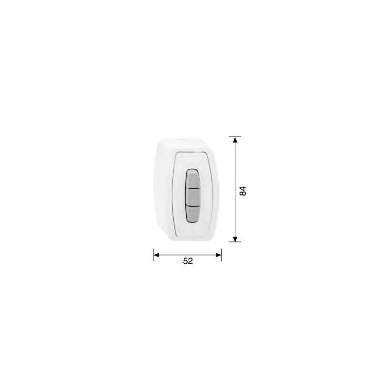 Natynkowy przełącznik do rolet Sleve i-Switch AP