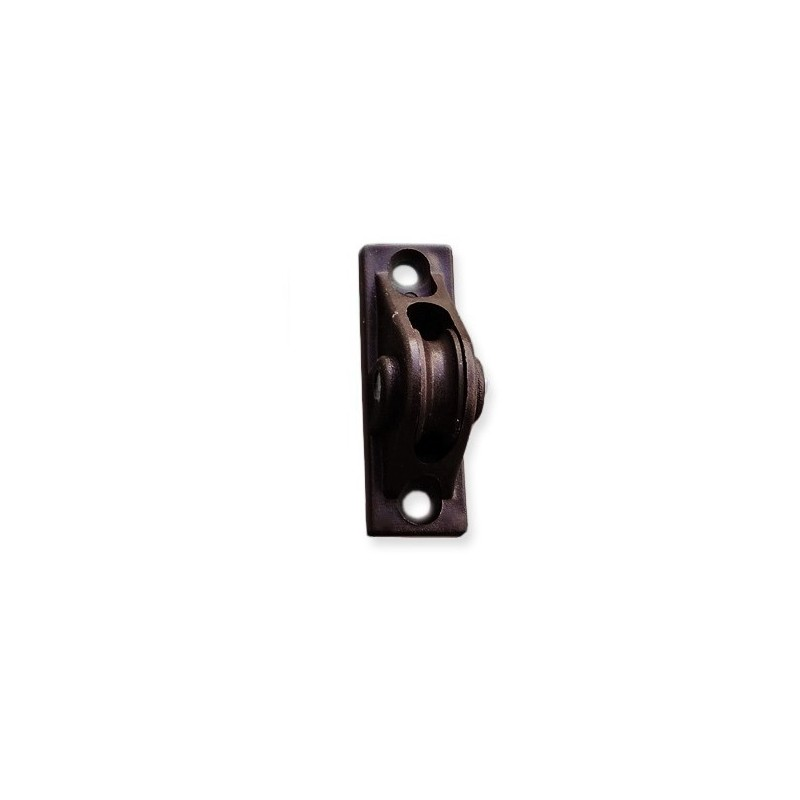 Przelotka sznura do rolet zewnętrznych w kolorze brązowym