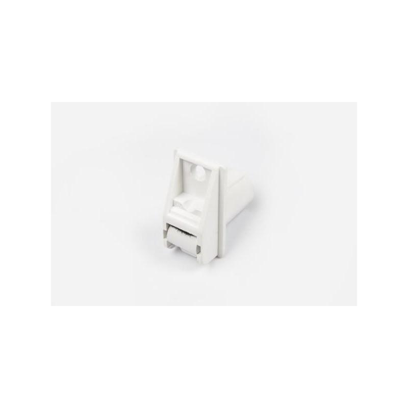 Standardowa przelotka do rolet w kolorze białym