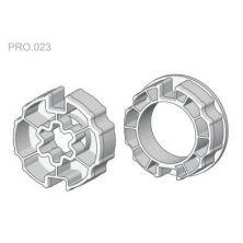 Zabierak i adapter Ø78 do rury okrągłej w napędach serii PRO