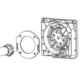 Ramka systemowa do napędów Pico i Pro stsowana przy roletach nadstawnych