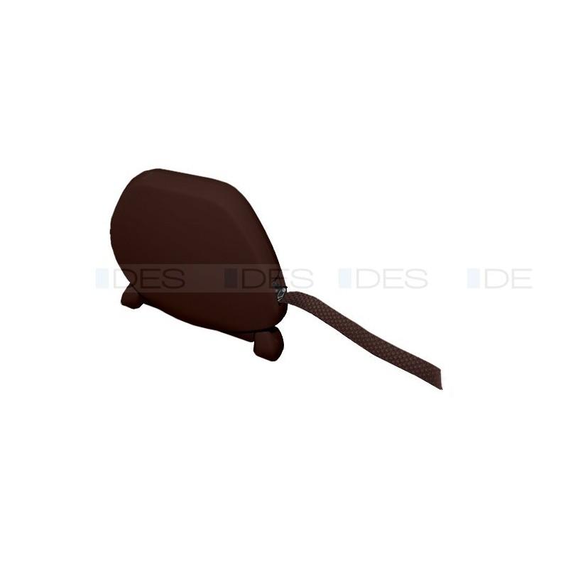 Zwijacz na taśmę LUX w kolorze brązowym z połyskiem
