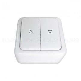 Stabilny przełącznik z ramką natynkową