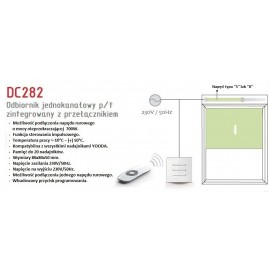 Przełącznik jednoknałowy Cameleo DC 282