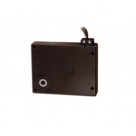Standardowy zwijacz na taśmę z korbą w kolorze brązowym