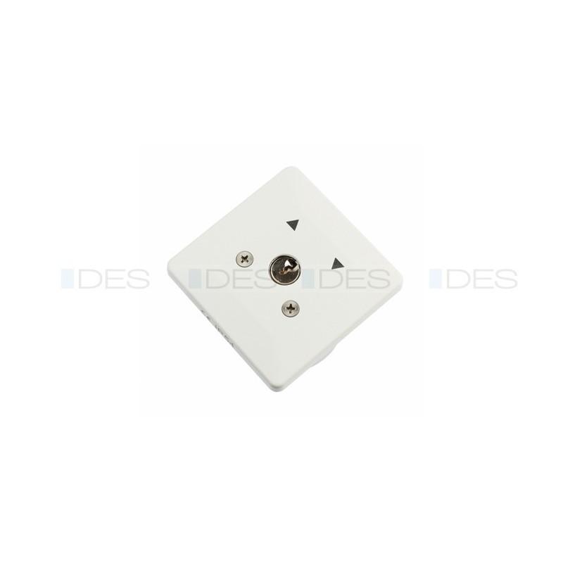 Stabilny przełącznik podtynkowy na kluczyk