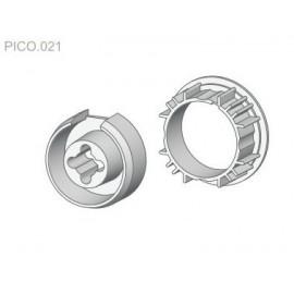 Zabierak i adapter Ø50 do rury okrągłej w napędach serii PICO