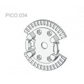 Uchwyt systemowy do napędów PICO 034 Ø40mm