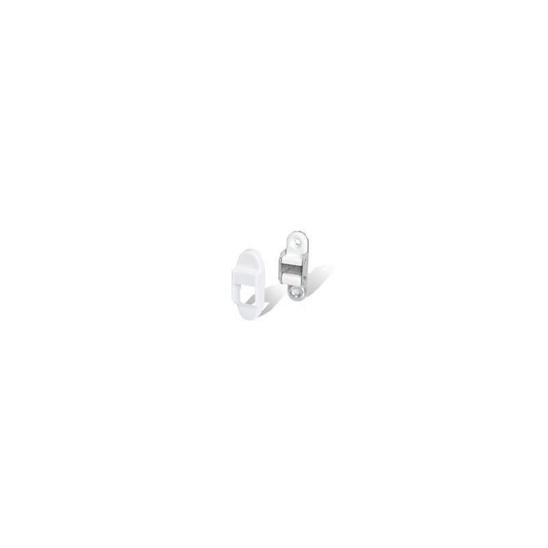 Przelotka do rolet standardowych w kolorze białym