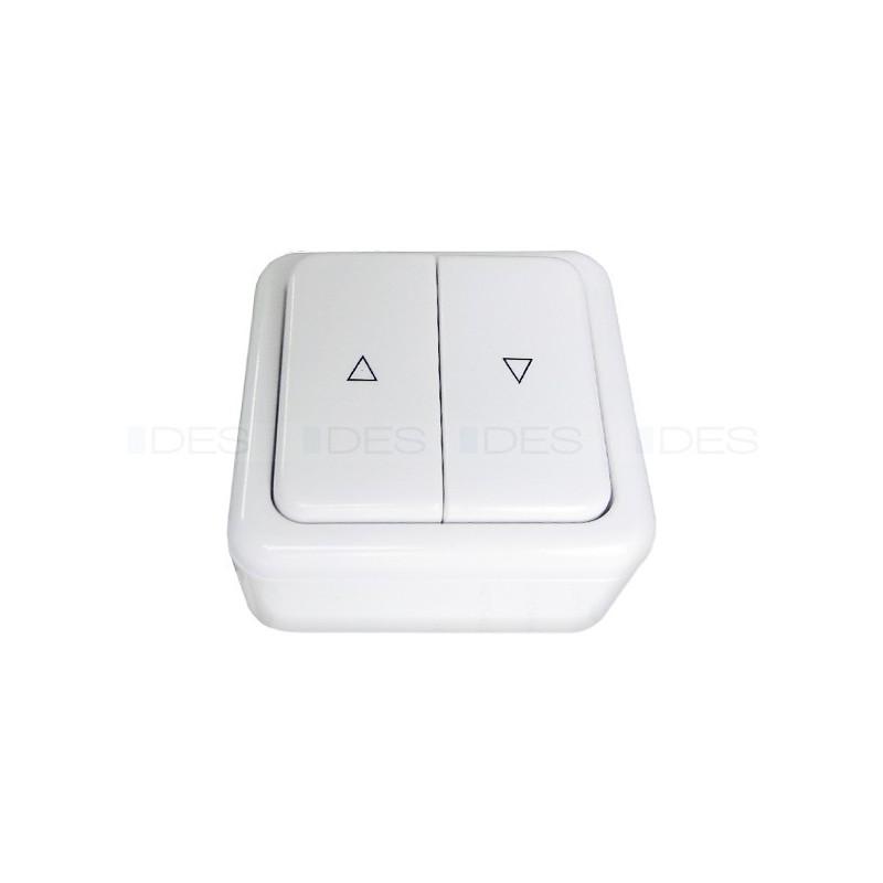Natynkowy przełącznik z ramką astabilny